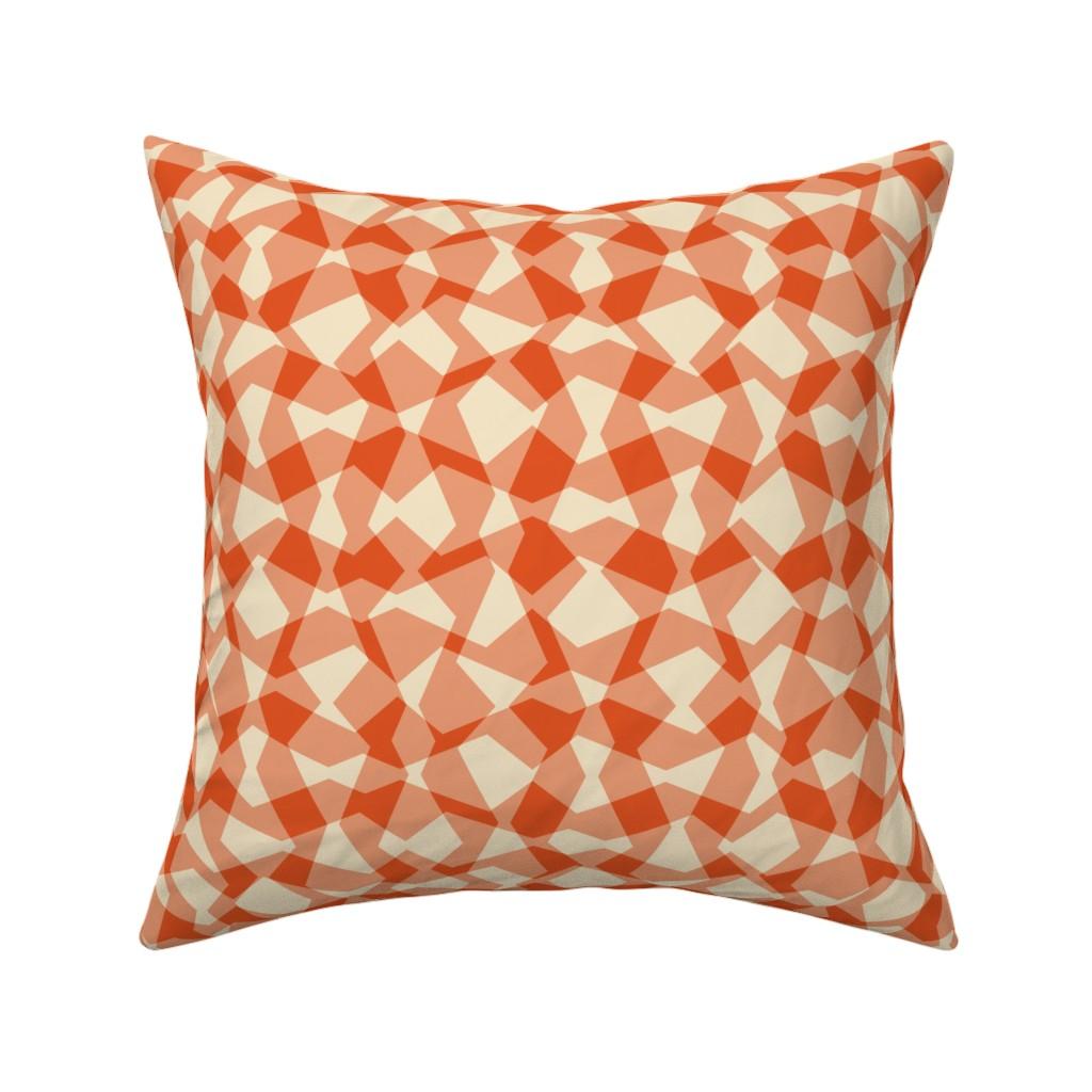 Catalan Throw Pillow featuring Angular Surface by zuzana_licko