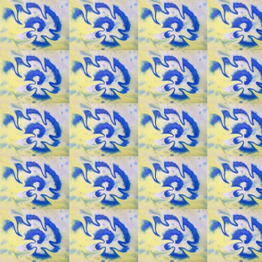 _ 8 Blue swirls on yellow - detail1 liquified cropped