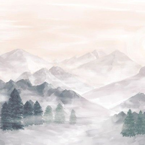 Misty mountains small