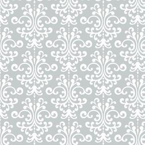 damask sterling grey