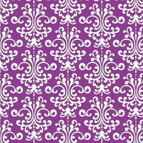 damask purple grape