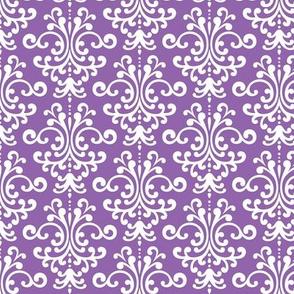damask purple amethyst
