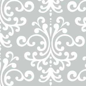 damask lg sterling grey