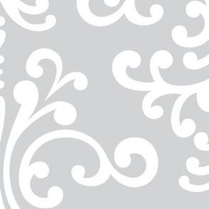 damask xl light grey