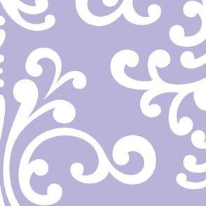 damask xl light purple