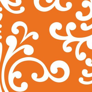 damask xl orange
