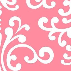 damask xl pretty pink