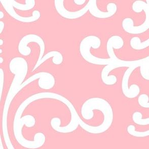 damask xl light pink