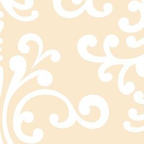 damask xl ivory