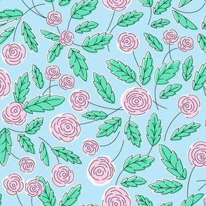 Fifty roses