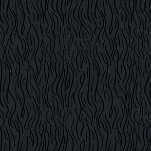 MidCentury WoodGrain Black Slate