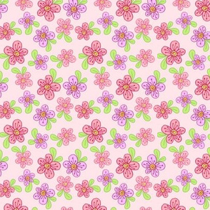 Purty Posies - Pink