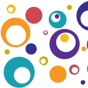 Multicolored Circles and Dots