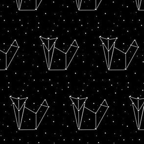 origami fox constellation