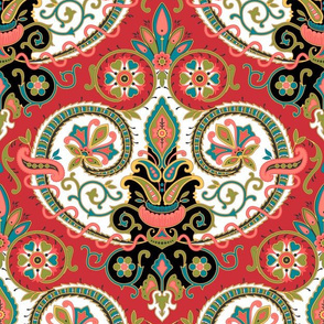 Paisley 21 19th Century Reproduction