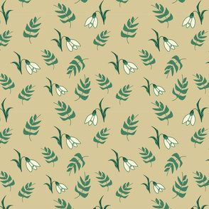Snow Drops Pattern