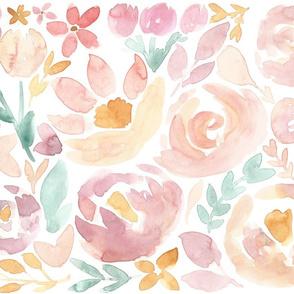 Soft Blush Fall Floral