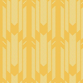 Lines on yellow