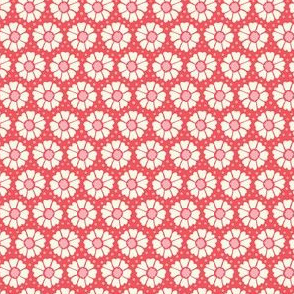 Flower and dots