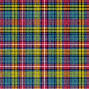 "Buchanan Ancient tartan - 2"" cool modern colors"