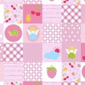 Baby patchwork pattern