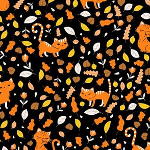October Kitty Cats