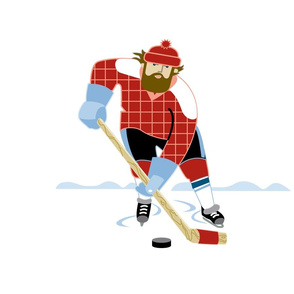 Paul Bunyan Hockey panel