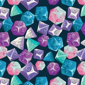 Tabletop Dice - Ice