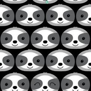 sloth faces