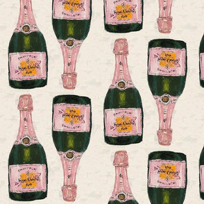 champagne big - half drop repeat