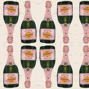 champagne big - mirrored repeat