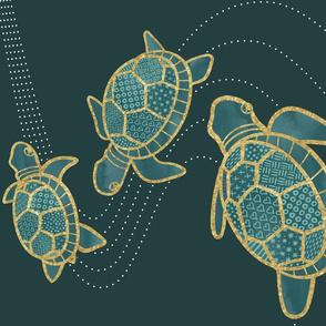 teatowel_turtle02_teal_landscape