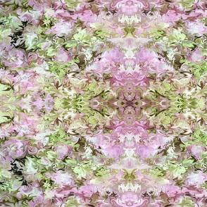 Liquid Hydrangea  Pink Green