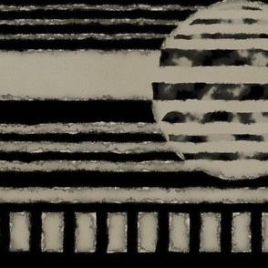 Brenda Lee: Metallic Edge Circles and Stripes