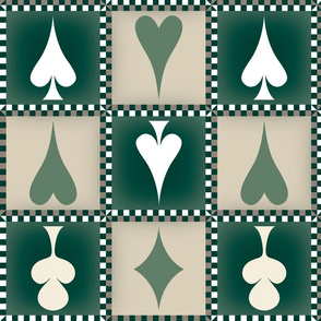 four, green