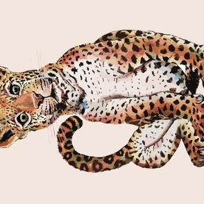 Jaguar Tea Towel by ArtfulFreddy