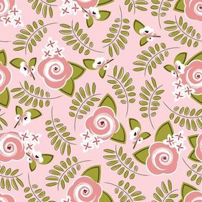 Florist Table - Pink