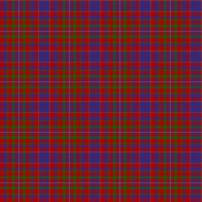 "MacLeod red tartan, 2"""