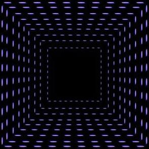 Optical illusion  squares on black