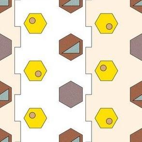 Africana Geometric Print