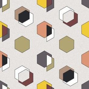 60s Style Geometric Print I