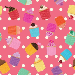 Cupcake Scatter