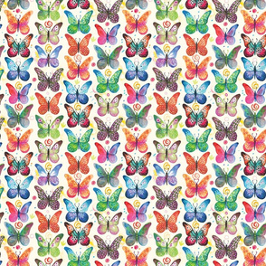 Colorful butterflies | small