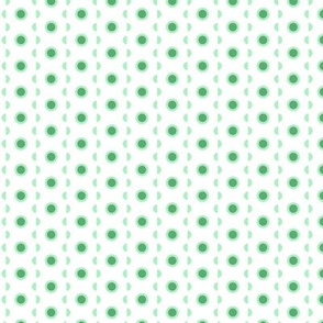 Stylised cactus dotted pattern