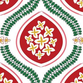 Garden Tile - Christmas
