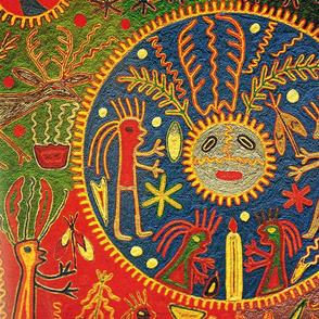 Southwest Huichol Sun Ritual