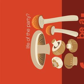 Be a fungi tea towel