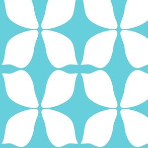 Mega Flower Echo in Bright Aqua is Back