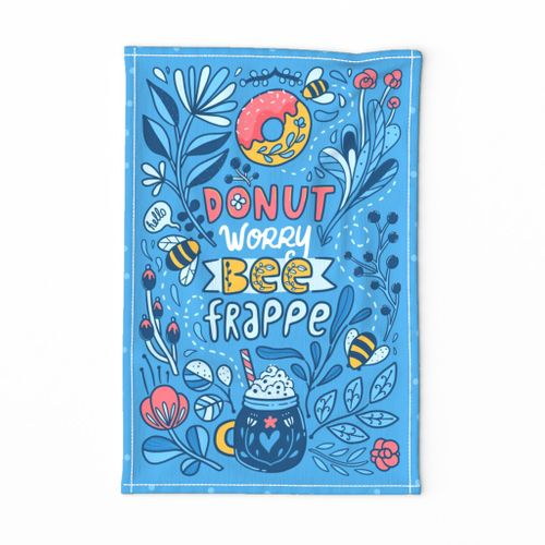 Donut worry bee frappe