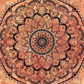 Project 82. 7 Autumn Mandala